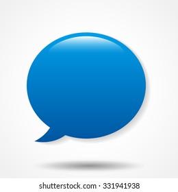 Smooth Speech Bubble  icon
