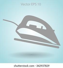 smoothing-iron vector illustration