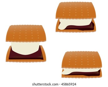 Smores - vector version