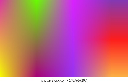 Smoth multicolor background blurry abstract gradient, rainbow colorful template