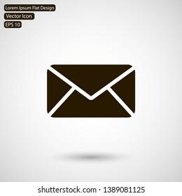 sms icon vector eps 10 , Lorem ipsum flat design