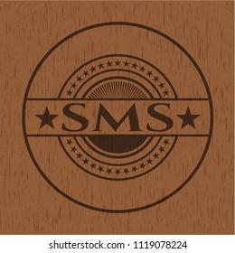 SMS realistic wood emblem