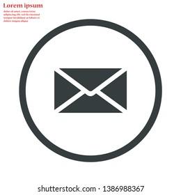 sms vector icon 10 eps , Lorem ipsum Flat design