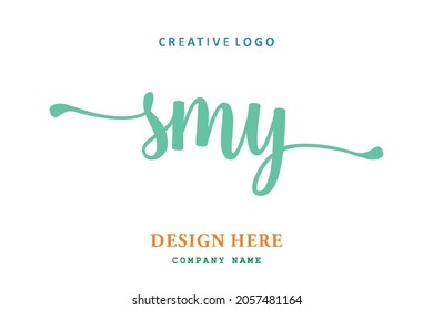 SMY lettering logo is simple, easy to understand and authoritative