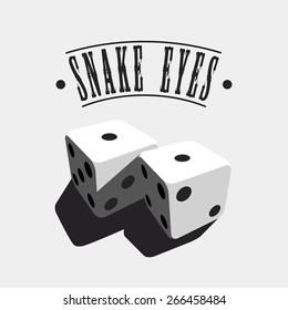 Snake Eyes - dice