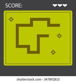 Snake Game Layout