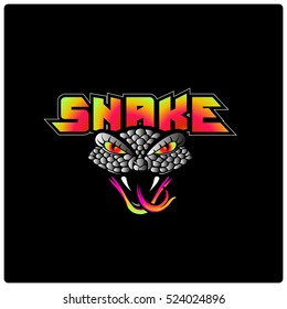 Snake Illustration Emblem