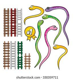 Snake and Rope Ladder Set