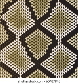 Snake skin pattern for design as a background. Jpeg version also available in gallery