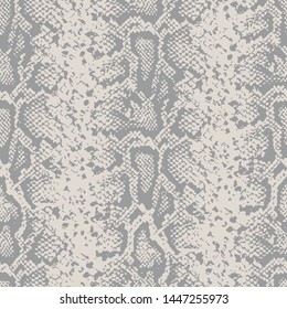 Snake skin pattern design - funny  drawing seamless pattern. Lettering poster or t-shirt textile graphic design. / wallpaper, wrapping paper.