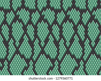 Snake skin pattern texture repeating seamless. Vector. Texture snake. Fashionable print. python snake