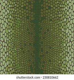 Snake skin, reptile seamless pattern