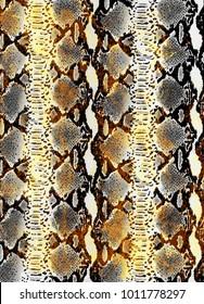 Snake skin texture.  Texture snake. Fashionable print. python snake