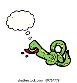 snake tied in knots cartoon