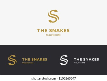 The Snakes Logo Template