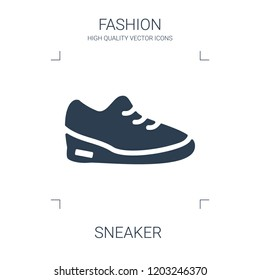 sneaker icon. high quality filled sneaker icon on white background. from fashion collection flat trendy vector sneaker symbol. use for web and mobile