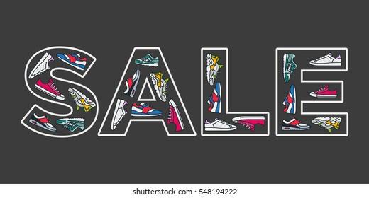 sales on sneakers