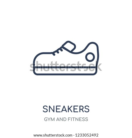 Sneakers icon Sneakers linear