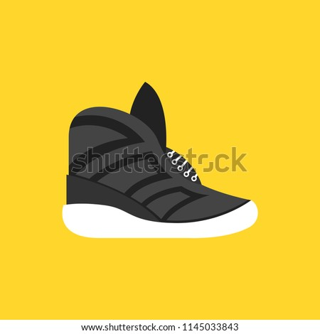 Sneakers icon Vector illustration