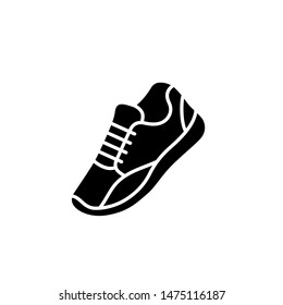 Sneakers isolated. Shoe vector, fashion, sport style, abstract geometry shoes illustration