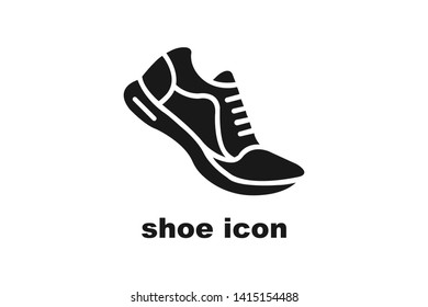 Sneaker,shoe icon.simple symbol design illustration can be used for web and mobile