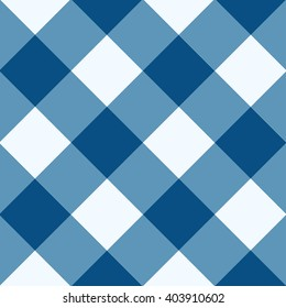 Snorkel Blue White Diamond Chessboard Background Vector Illustration