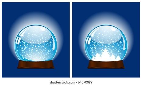 snow ball - christmas decoration