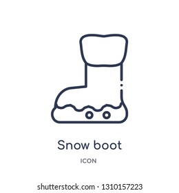 Snow Boots Isolated Stock Illustrations, Images \u0026 Vectors