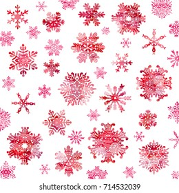 Snow crystal texture background