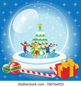 Snow Globe and christmas gifts