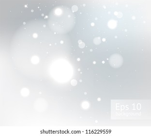 Snow gray winter background, EPS10 file with transparency effects