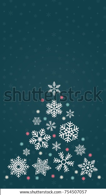 Snow Vector Merry Christmas Wallpaper Free Royalty Free