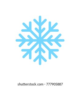 Snowflake frozen ice vector illustration symbol icon pictogram