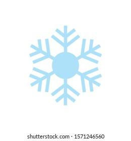 Snowflake Icon for Christmas Time