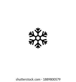 snowflake icon set vector sign symbol