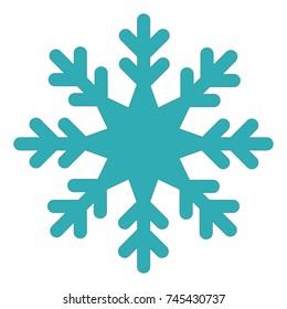 snowflake icon. snow icon. ice crystal icon. winter icon illustration eps10