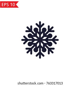 Snowflake icon Vector.