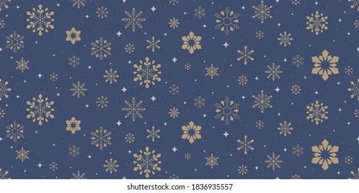 snowflake pattern vector, winter background