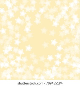 Snowflake pattern which consists of isolated elements. Stylish, consist of beautiful  elements in snowflake pattern. Can be used as print, wallpaper, cards, poster, logo, background