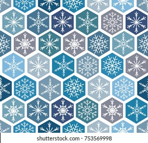 snowflakes background (winter design)