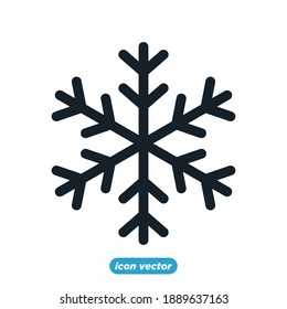 Snowflakes  icon template color editable. Snowflakes  symbol vector illustration for graphic and web design.