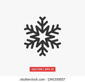 Snowflakes Icon Vector Illustration