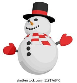 Snowman (3/4 view)