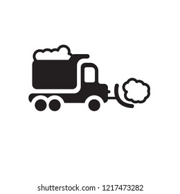 Snowplow icon. Trendy Snowplow logo concept on white background from Winter collection. Suitable for use on web apps, mobile apps and print media.