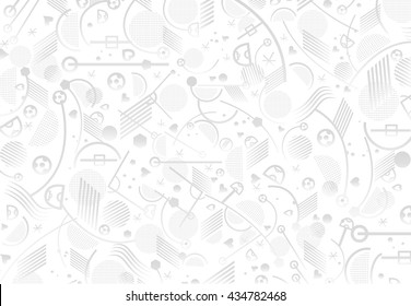 Soccer 2016 pattern. European Championship Soccer 2017. France Soccer Abstract grey background, soccer pattern 2017/18 Football. Vector Sport. UEFA Champions League game. Final Football Game Sport