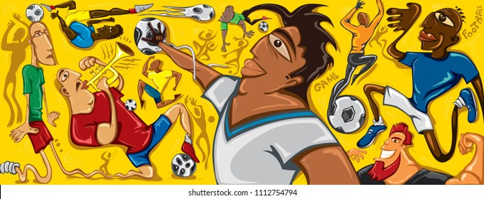 Jugend Fussball Stock Illustrations Images Vectors