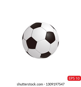 soccer ball cartoon icon