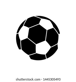 Soccer Ball Football Symbol Icon Vector Design Illustration
