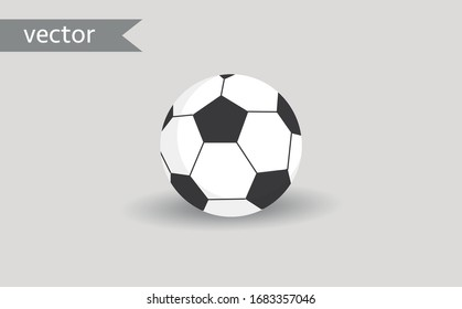 Soccer Ball Football Symbol Icon Vector Design Illustration