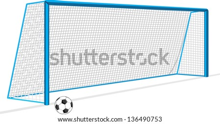 soccer-ball-gate-isolated-on-450w-136490